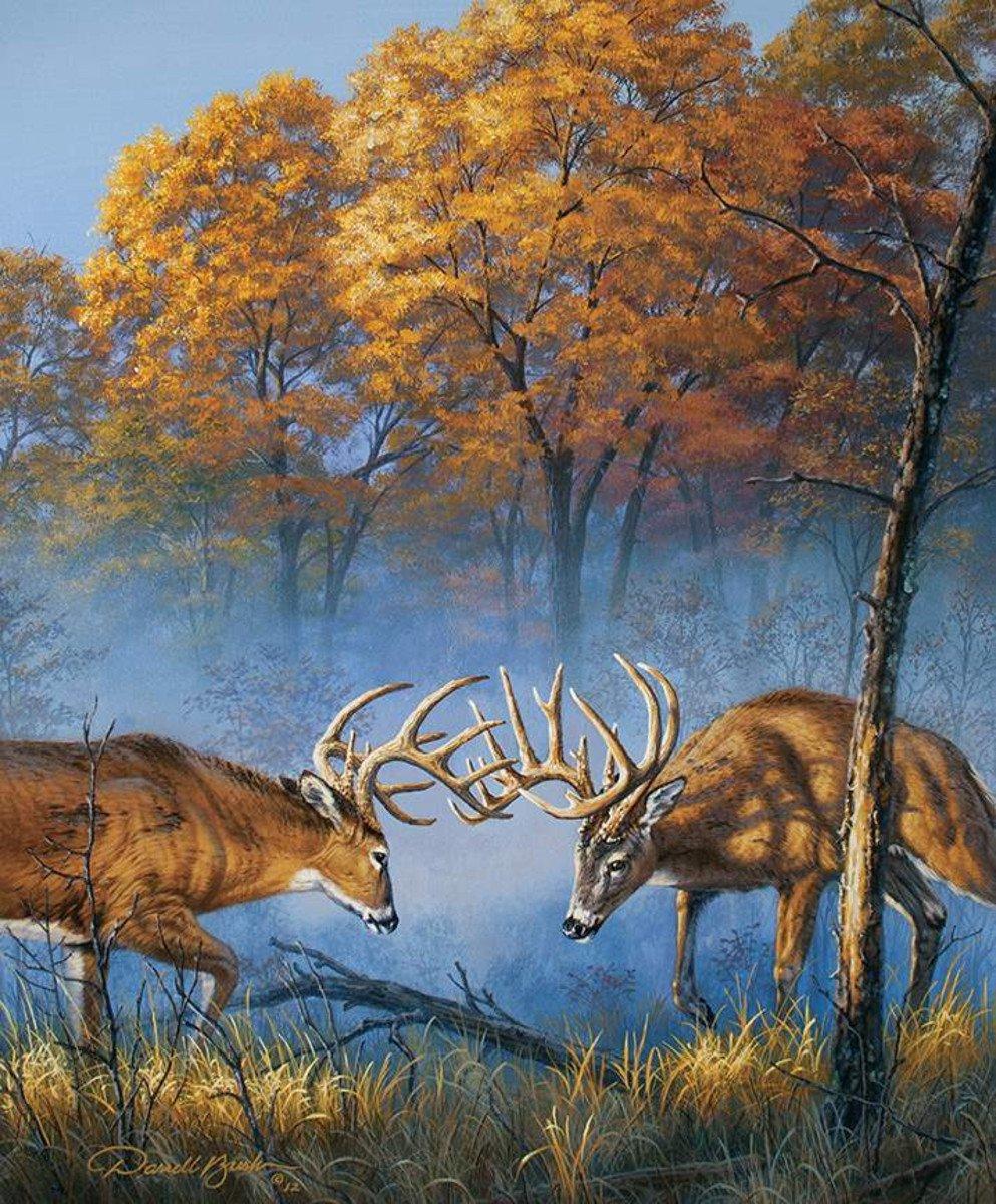 Natures Finest Deer Panel by Riley Blake Fabrics P9953-DEER