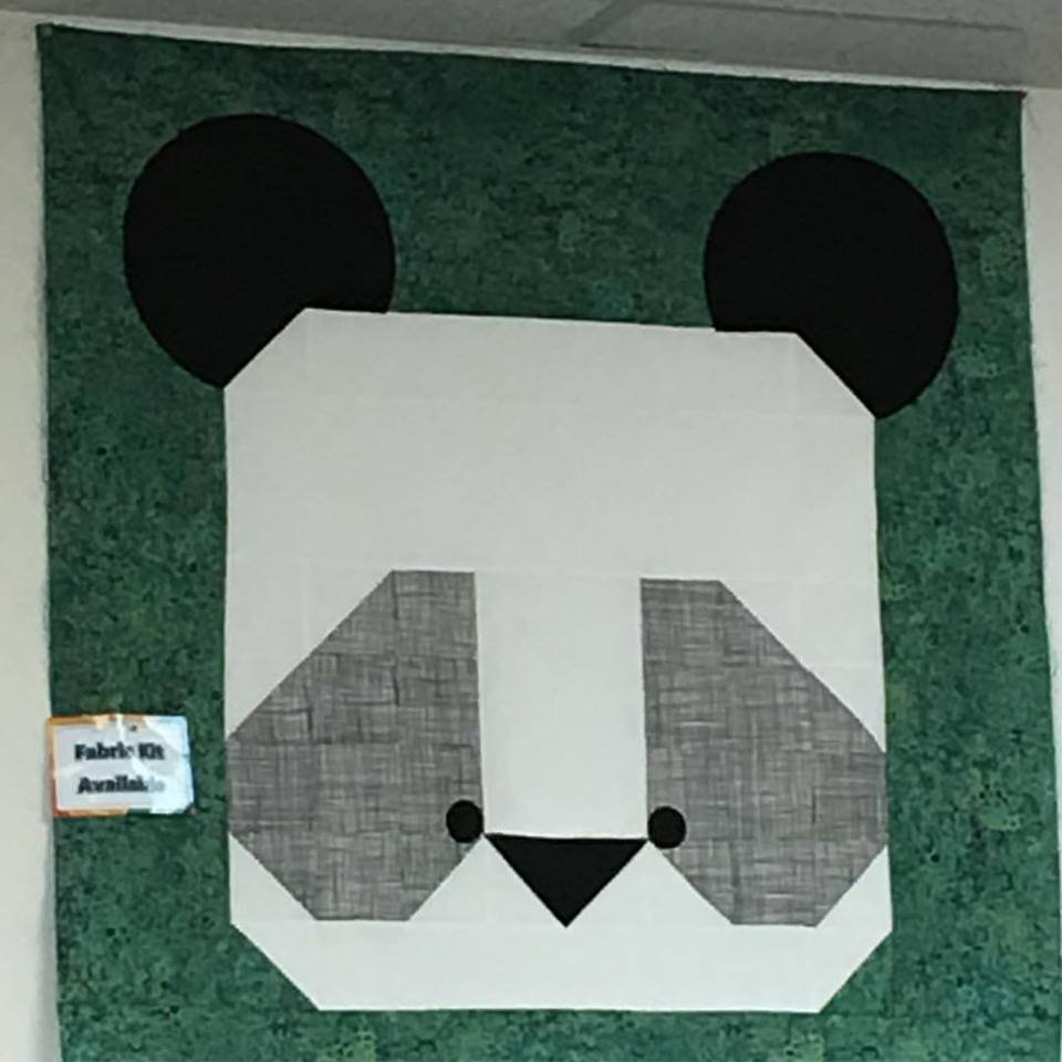Ping The Panda quilt kit by McKay Manor Musers