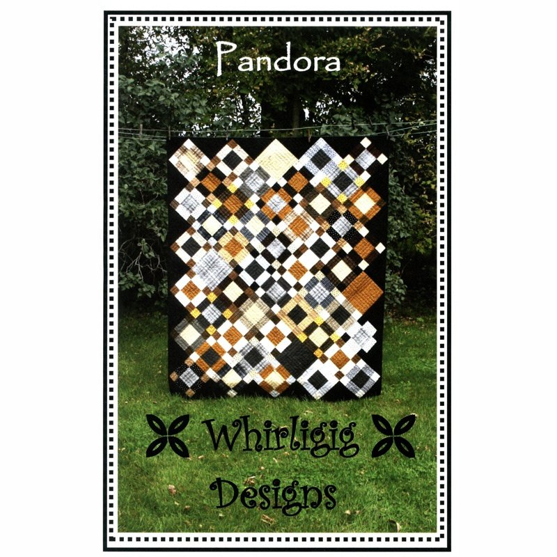 Pandora, Quilting Pattern by Whirligig Designs : P-WD