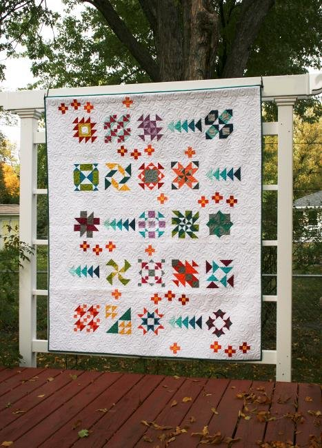 Piccadilly quilt pattern by Whirligig Designs WD-PICBOM