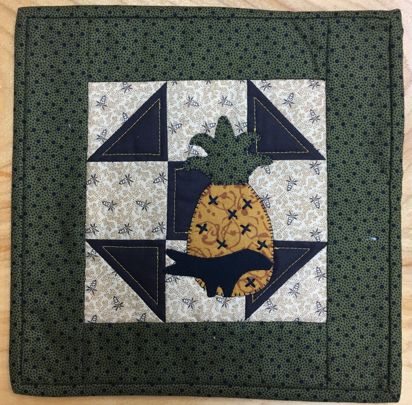Pineapple - Finished Quilt
