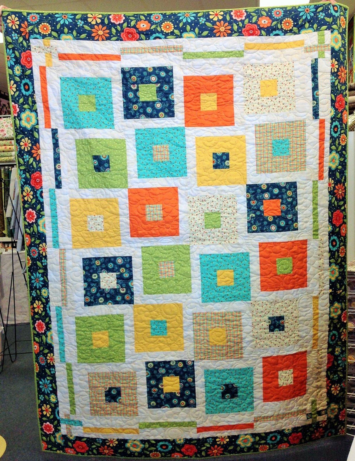 Playa Del Sol by Nancy Rink, Fabric Kit