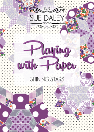 Playing with Paper, Shining Stars by Sue Daley Designs
