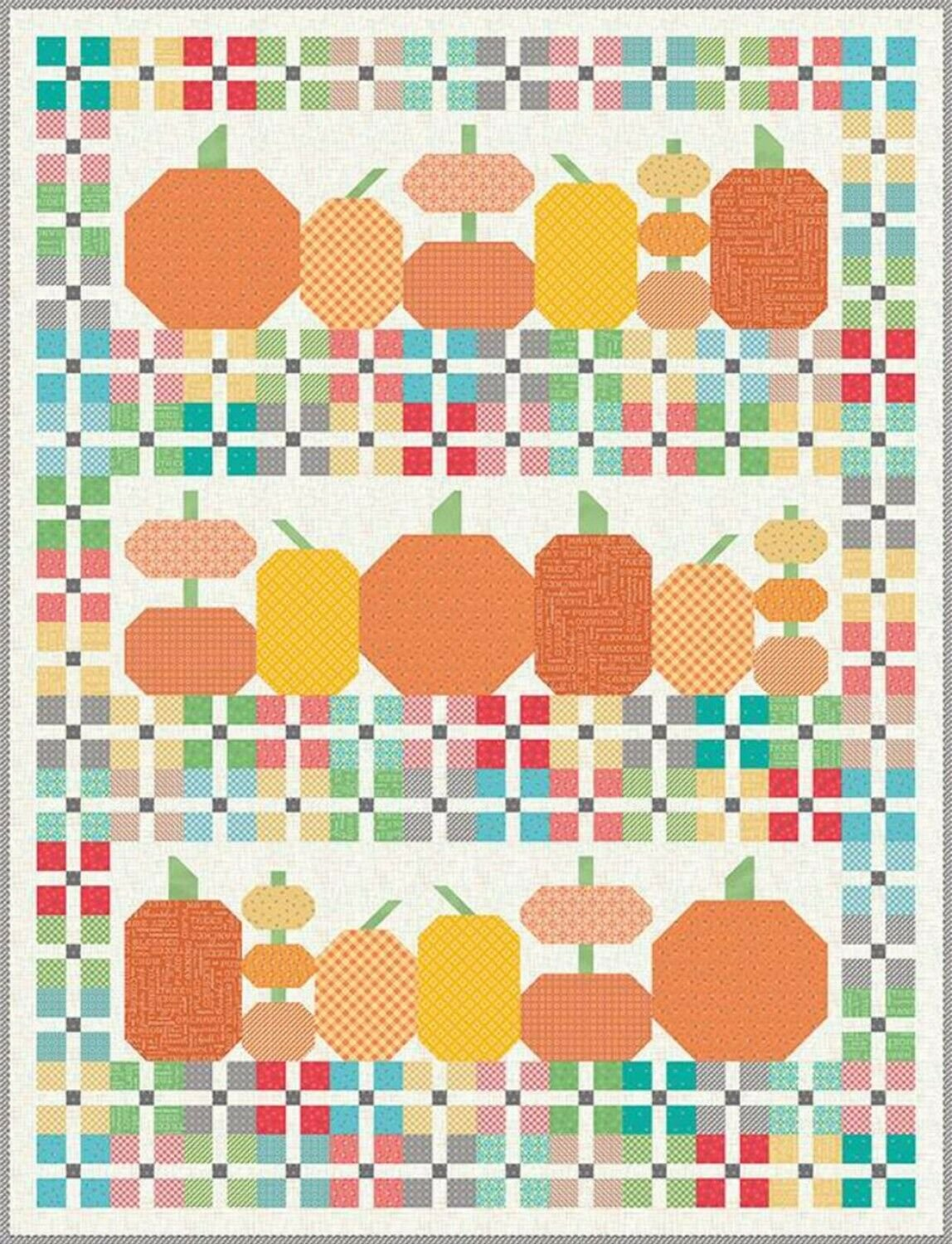 Pumpkins and Plaids Boxed kit by Lori Holt for Riley Blake Designs KTB-7946