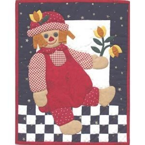 Rag Doll Wallhanging Quilt Kit by Rachel Pellman, K0399