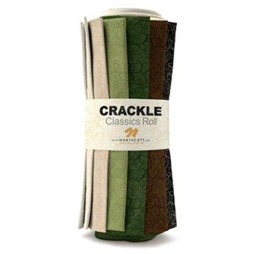 Crackle, Fat Quarter Roll by Northcott Fabrics : RCRACKL15-10