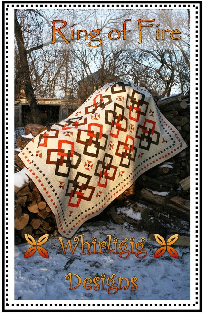 Ring of Fire, Quilting Pattern by Whirligig Designs : ROF-WD