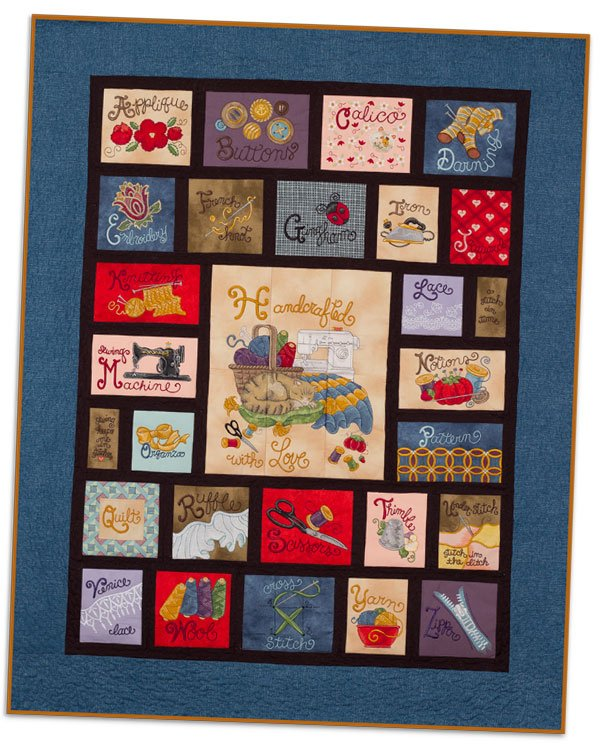 Sewing Quilt machine embroidery