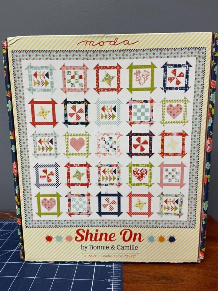 Shine On fabric kit by Bonnie & Camille for Moda Fabrics KIT55210
