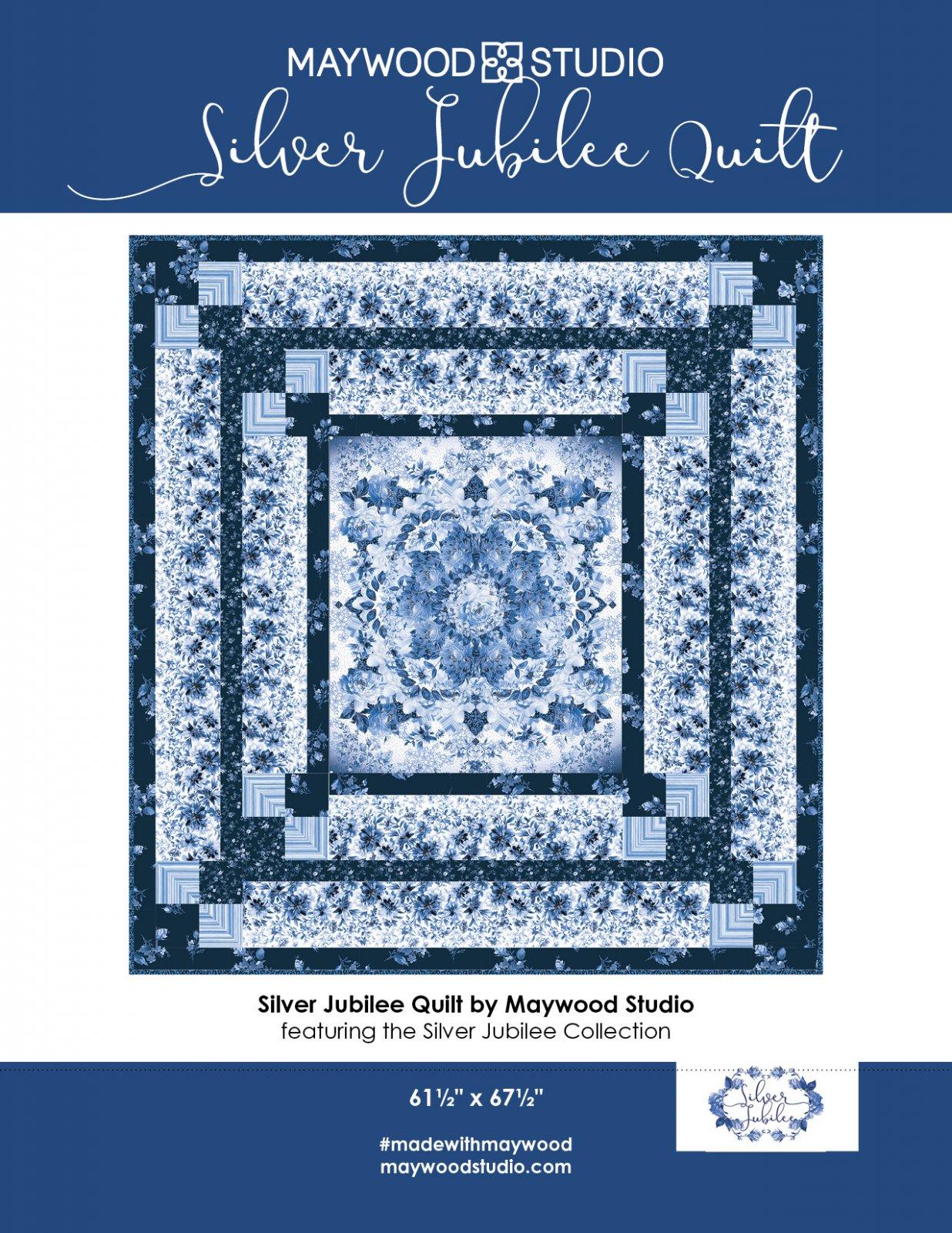 Silver Jubilee Quilt kit by Maywood Studio KIT-MASSIJ