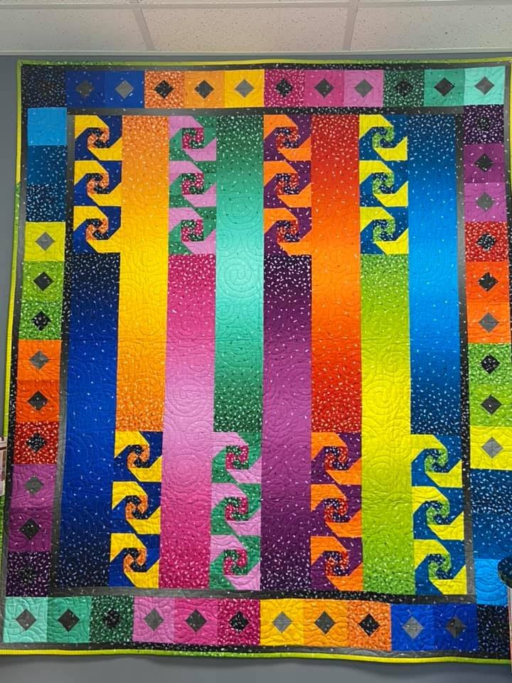 Snippets - Pearlescent fabric quilt kit