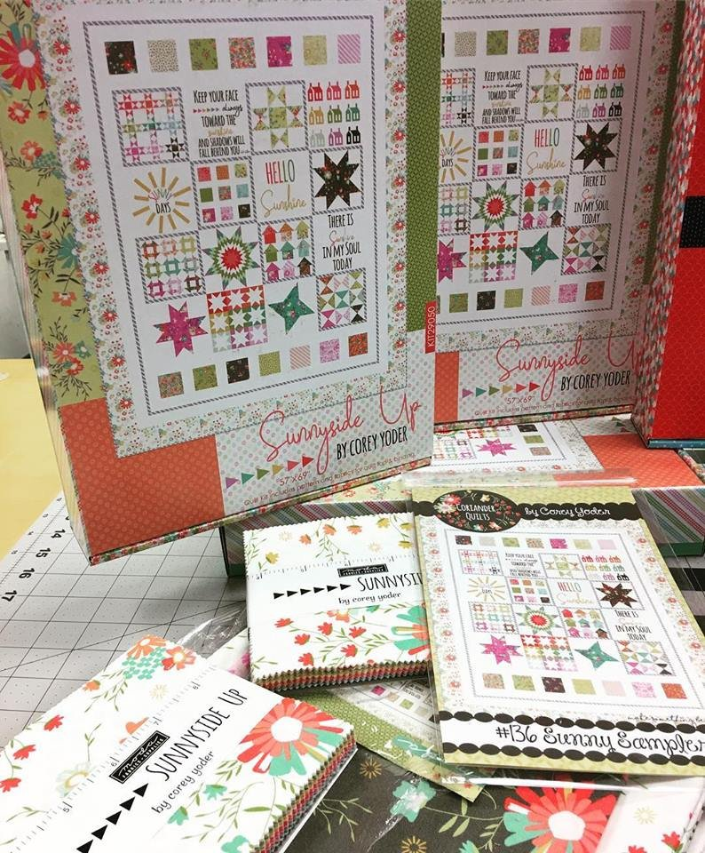 Sunnyside Up fabric kit