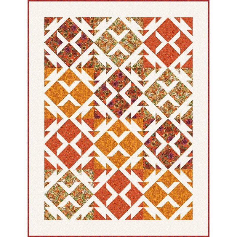 Chestnut, Sweater Weather Fabric Kit, Pattern by It's So Emma, fabrics by Maywood Studio : KIT-MASCHE