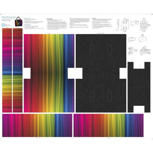 Take Along Tote Panel by QT Fabrics 1649-27815-X