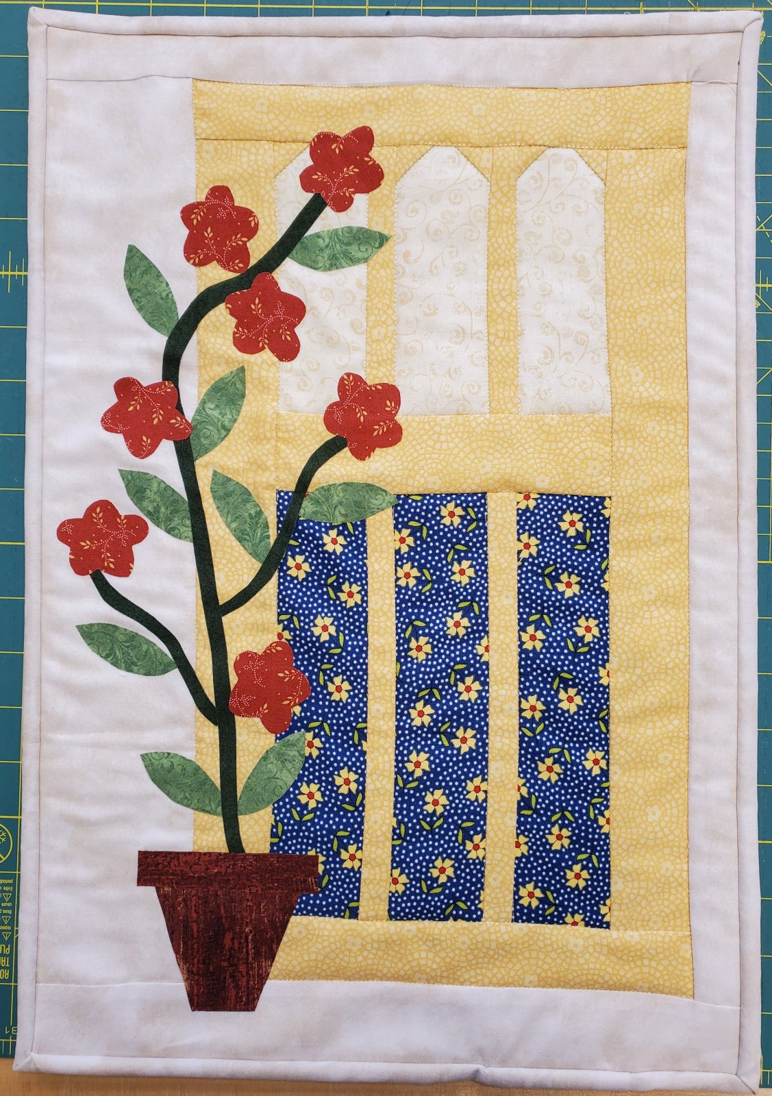 Sprouting Up! Fabric Kit by Quilts N Gifts, Pattern by The Cottage Rose : TCR1984-Kit