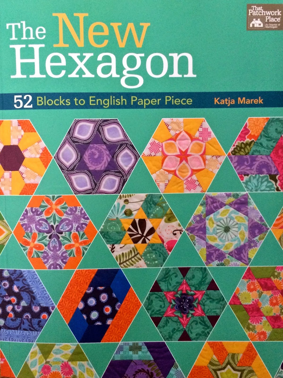 The New Hexagon by Katja Marek, English Paper Piecing Book : B1235