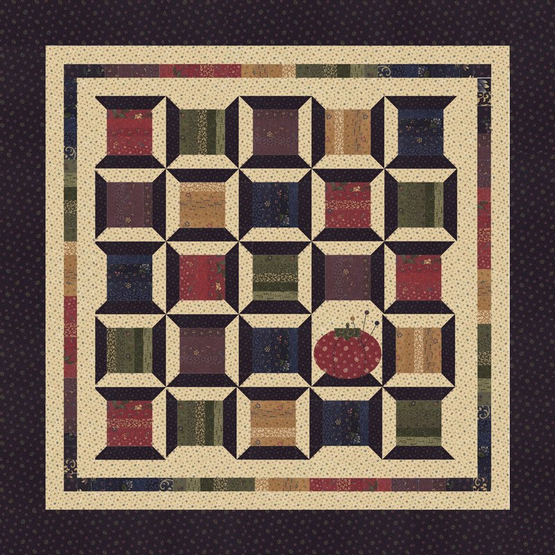Through the Years quilt kit by Kansas Troubles Quilters for Moda Fabrics KIT9620