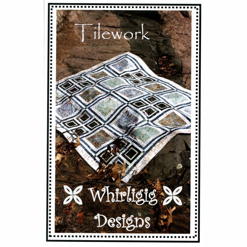 Tilework, Quilting Pattern by Whirligig Designs : T-WD