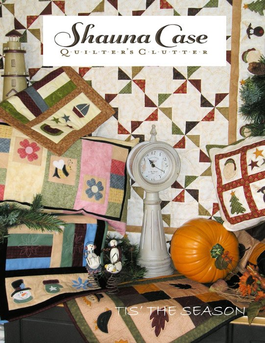 Tis' the Season by Shauna Case for Quilter's Clutter