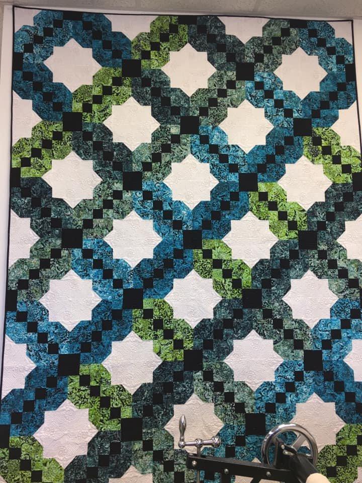 Valencia fabric kit by Tiffany Hayes by Banyan Batiks for Northcott Fabrics