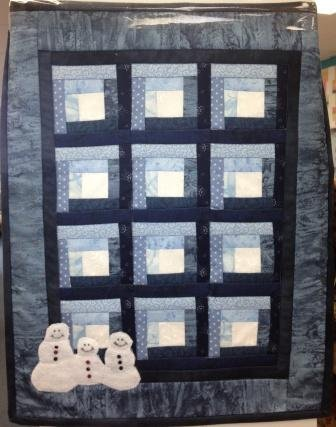 Winter at the Cabin by Red Button Quilt Co. : #205