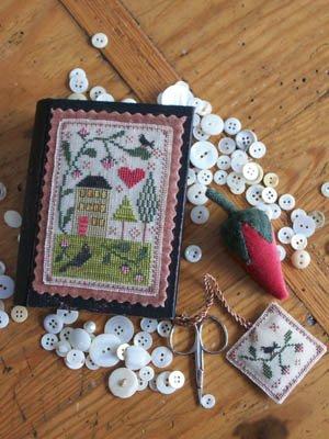 CM Berry House Stitch Book
