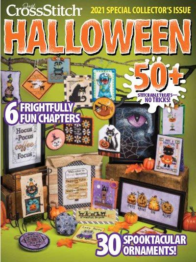 Just Cross Stitch 2021 Halloween