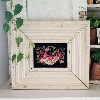 HFLM Flower Basket Punch Needle