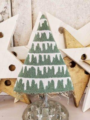 HFLM Iced Winter Tree Punch Needle
