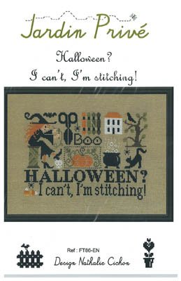 JP Halloween? I Can't, I'm Stitching!
