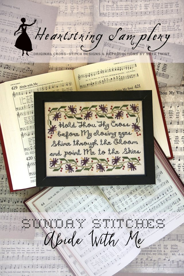 HS Abide With Me - Sunday Stitches #7