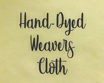 Acacia Hand-dyed Weavers Cloth
