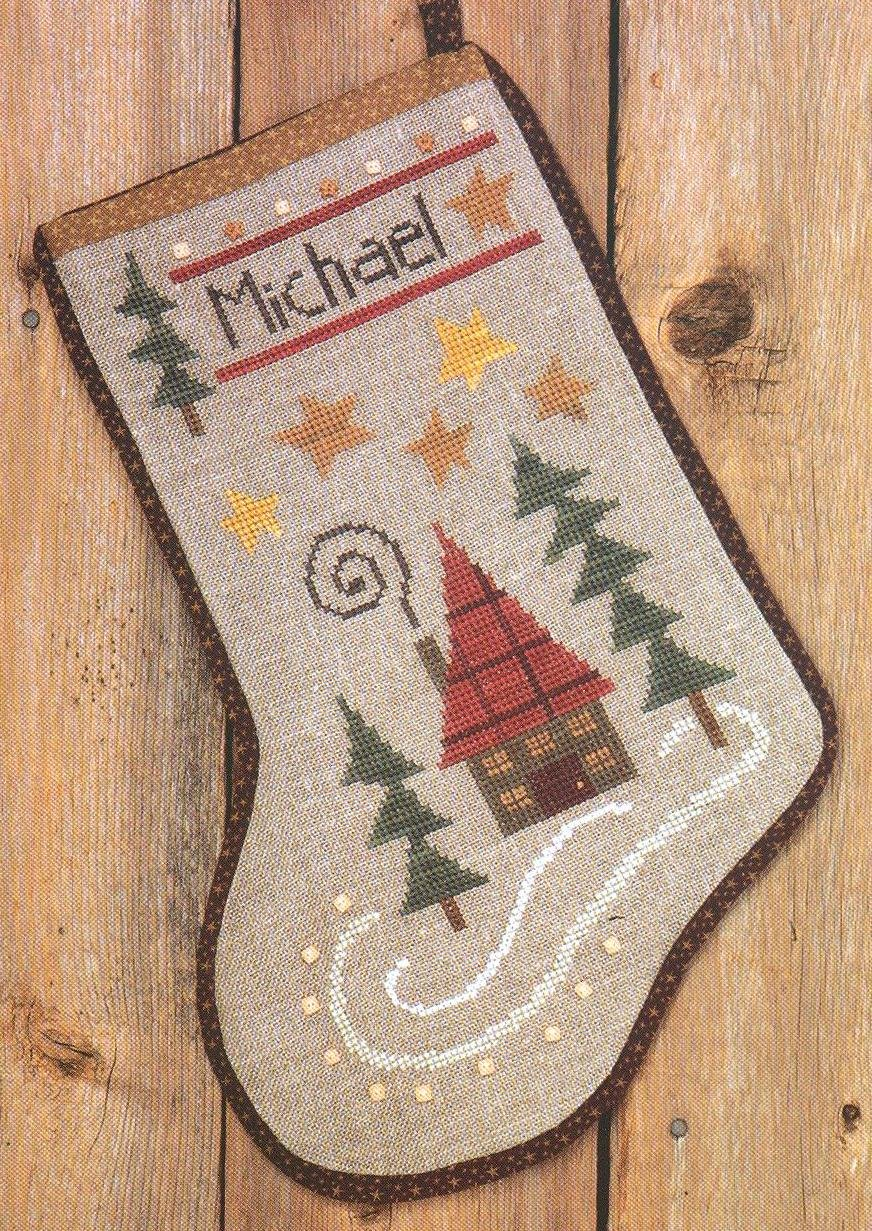 BC Holiday Home Stocking