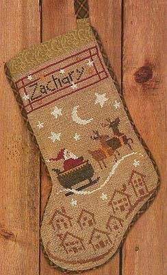 BC Christmas Eve Stocking