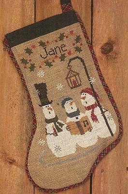 BC Christmas Carols Stocking