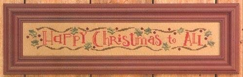 BC Happy Christmas Row