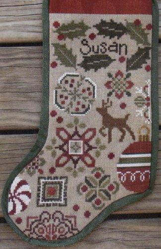 BC Holly Quaker Stocking