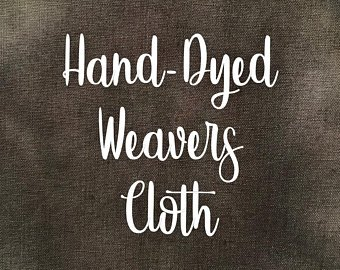 Bog Hand-Dyed Weavers Cloth