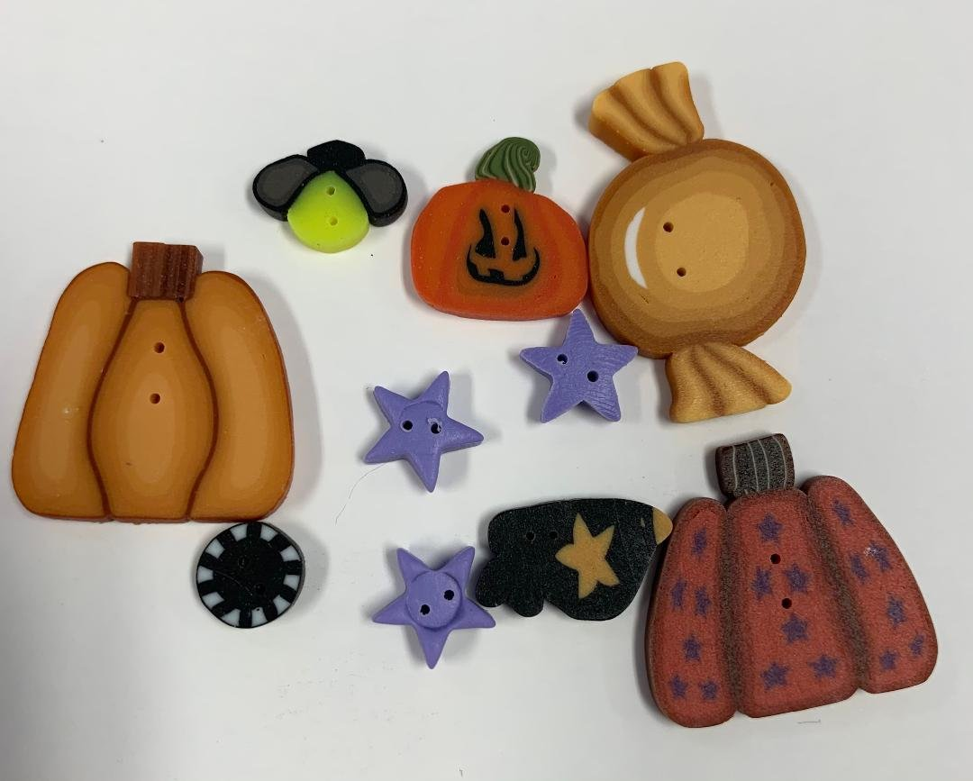 JABC Boo Scurry Yum Button Pack