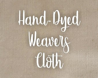 Cottonwood Hand-Dyed Weavers Cloth