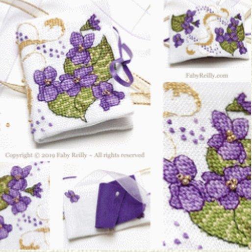 DD Violet Needlebook