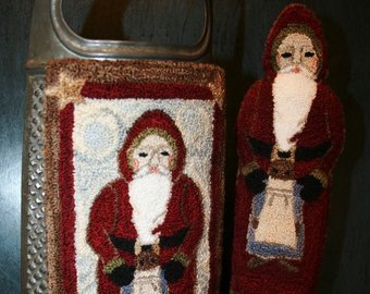 FD Father Christmas Punchneedle