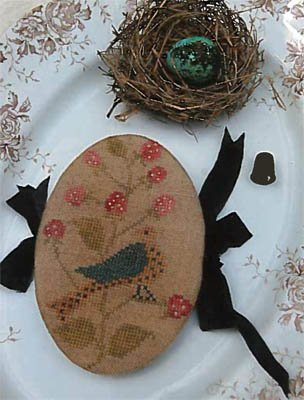 SN Feathered Nest Pin Book