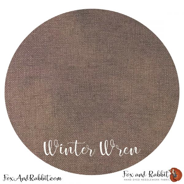 FAR 32ct Winter Wren Half Yard