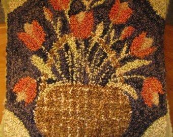 FTC Orange Tulip Basket Punch N