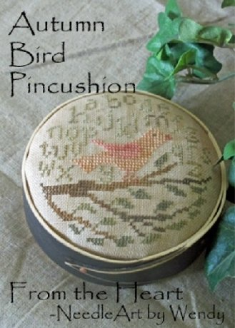 FTH Autumn Bird Pincushion
