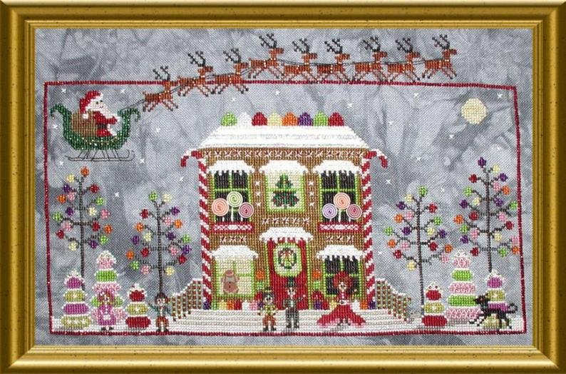 PS Gingerbread Cottage Drum