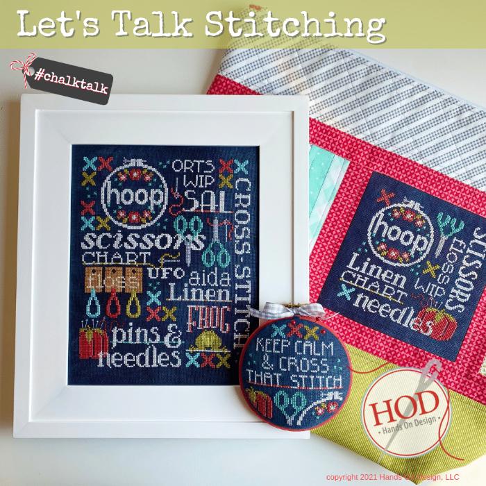 HOD Let's Talk Stitching