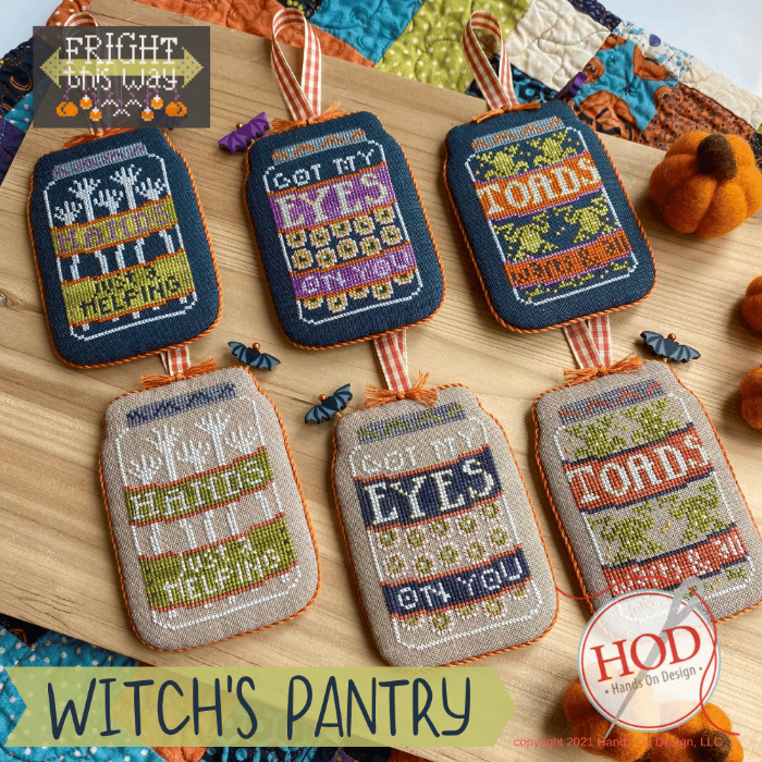 HOD Witch's Pantry - Fright This Way Series