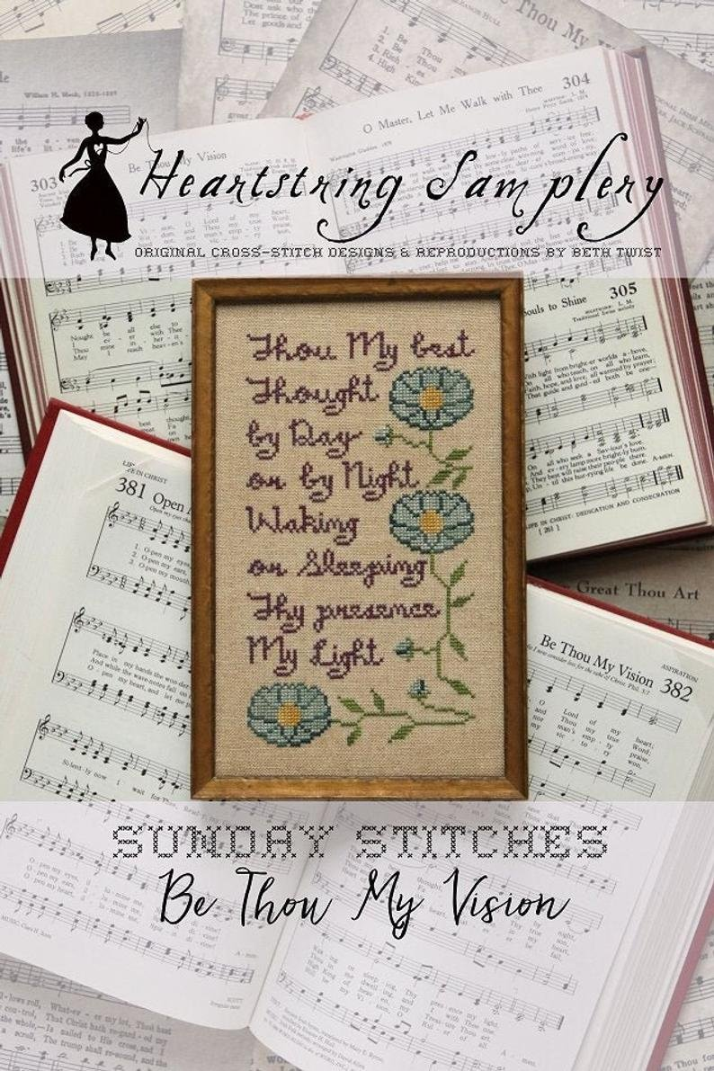 HS Be Thou My Vision - Sunday Stitches #2